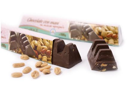 Barra de chocolate con Maní - Murke